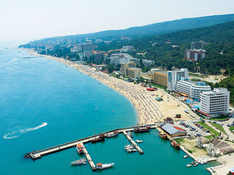 Golden Sands, Varna, Black Sea Resorts, Bulgaria